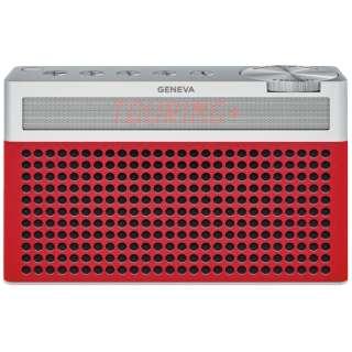 ブルートゥーススピーカー Geneva Touring S+ 875419016689JP レッド [Bluetooth対応]