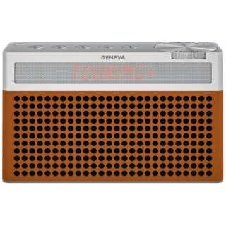 ブルートゥーススピーカー Geneva Touring S+ 875419016696JP コニャック [Bluetooth対応]