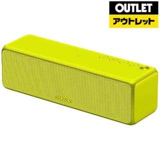 【アウトレット品】 ブルートゥース スピーカー [Bluetooth対応 /Wi-Fi対応]  h.ear go  SRS-HG1 ライムイエロー 【生産完了品】