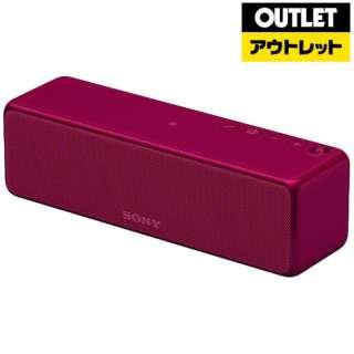 【アウトレット品】 ブルートゥース スピーカー [Bluetooth対応 /Wi-Fi対応]  h.ear go  SRS-HG1 ボルドーピンク 【生産完了品】