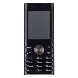 un.mode phone01「UM-01BK」ブラック 2.4型・標準SIMx1 ドコモ/ソフトバンク3G対応 SIMフリー携帯電話