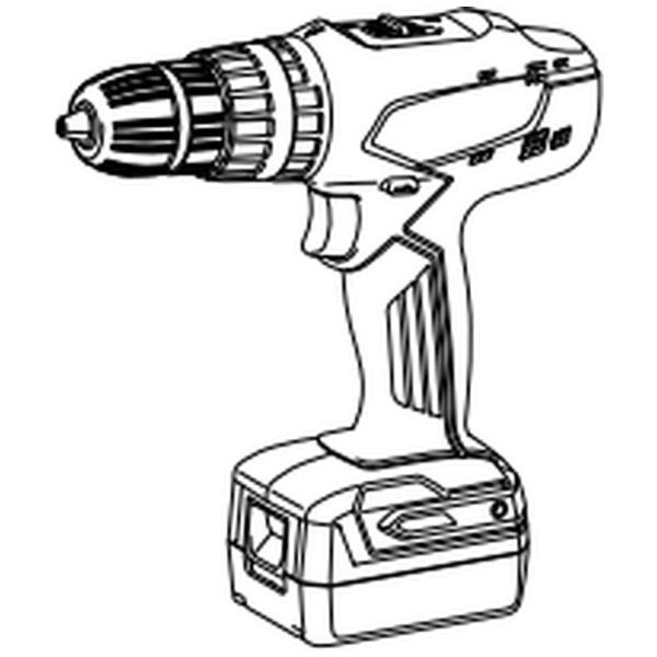 マキタ DIYモデル 充電式震動ドライバドリル M850DSX バッテリ2個付