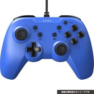 SWITCH用ジャイロコントローラーライト有線タイプ ブルー CY-NSGYCL-BL 【Switch】