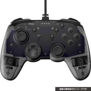 SWITCH用ジャイロコントローラーライト有線タイプ クリアブラック CY-NSGYCL-CBK 【Switch】