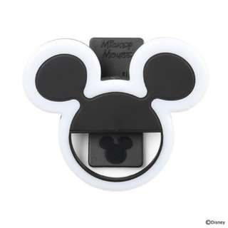 ディズニーキャラクター/ UNIVERSAL CLIP LIGHT 276-894804 ミッキーマウス/ブラック