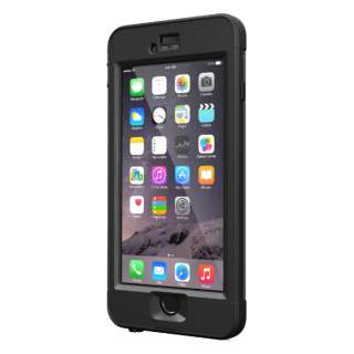 ガラス液晶保護フィルム LIFEPROOF nuud iPhone6 Black LPNUUDG6BCK