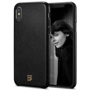 iPhone XS MAX Case La Manon calin Chic Black (Leather Case)