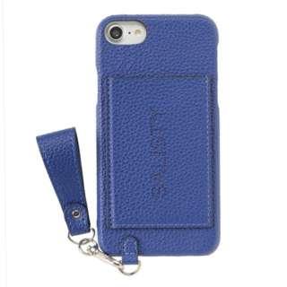 iPhone SE(第2世代)4.7インチ/ iPhone 8/7/6s/6専用 salisty(サリスティ)M パンチングロゴ ハードケース M-HC010C 276-906729 ブルー