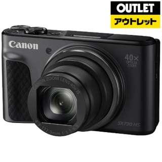 【アウトレット品】 コンパクトデジタルカメラ PowerShot(パワーショット) PSSX730HS ブラック 【外装不良品】