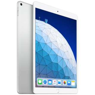 iPad Air 10.5インチ Retinaディスプレイ Wi-Fiモデル MUUR2J/A(256GB・シルバー)(2019) [256GB]