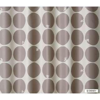 ドレープカーテン ミッキー/スコープ(100×135cm/ベージュ)