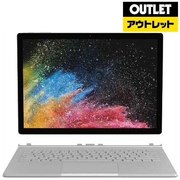 【アウトレット品】 13.5型Windowsタブレット [Office付・Core i5・SSD 256GB・メモリ 8GB] サーフェスブック2 HMW-00035 シルバー 【外装不良品】