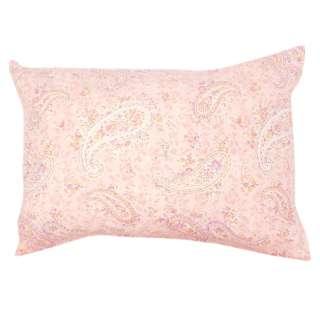 【まくらカバー】綿100%両面プリントまくらカバー ERUTU 標準サイズ(綿100%/43×63cm/ピンク)
