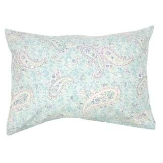 【まくらカバー】綿100%両面プリント枕カバー ERUTU 標準サイズ(綿100%/45×90cm/サックス)