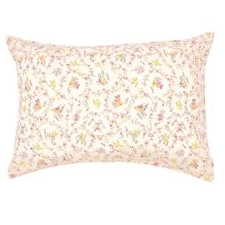 【まくらカバー】綿100%両面プリント枕カバー NOISHU 標準サイズ(綿100%/45×90cm/ピンク)