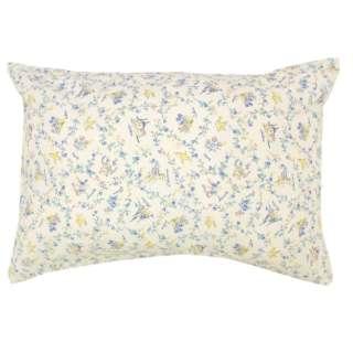 【まくらカバー】綿100%両面プリント枕カバー NOISHU 標準サイズ(綿100%/45×90cm/サックス)
