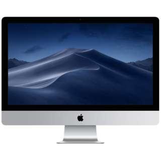 iMac 27インチ Retina 5Kディスプレイモデル[2019年/Fusion Drive 1TB/メモリ 8GB/3.1GHz6コア Core i5]MRR02J/A