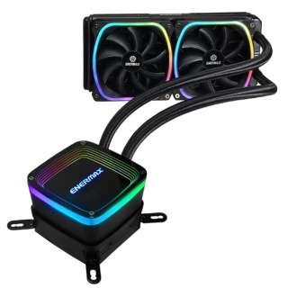 ENERMAX RGB LED水冷CPUクーラー AQUAFUSION 240mm ELC-AQF240-SQA ELC-AQF240-SQA