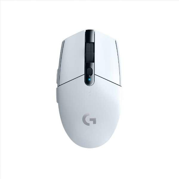 G304rWH ゲーミングマウス Gシリーズ LIGHTSPEED ホワイト [光学式 /6ボタン /USB /無線(ワイヤレス)]