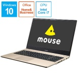 mouse ノートパソコン ゴールド MB-B508HS-A [15.6型 /intel Core i7 /SSD:512GB /メモリ:16GB /2019年4月モデル]