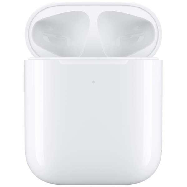 ワイヤレス充電ケース Wireless Charging Case for AirPods MR8U2J/A 【エアーポッズ専用純正アクセサリー】 Apple ホワイト