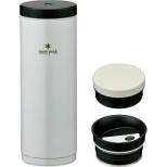 保温・保冷対応 魔法瓶 システムボトル500(350ml缶対応/パールホワイト) TW071RPW