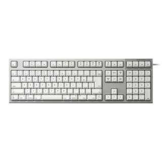 キーボード REALFORCE ホワイト R2-JPVM-WH [USB /有線]