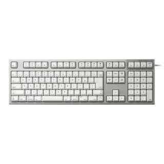 キーボード 静音 REALFORCE ホワイト R2SA-JP3M-WH [USB /有線]