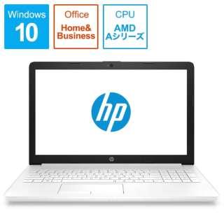 HP 15-db G1モデル ノートパソコン ピュアホワイト 6ML85PA-AAAA [15.6型 /AMD Aシリーズ /HDD:1TB /メモリ:8GB /2019年4月モデル]