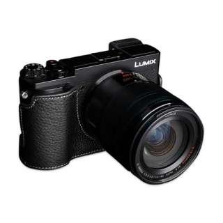 パナソニック GX7MK3(GX9)用革製カメラボディケース TB06GX9BK ブラック TB06GX9BK ブラック