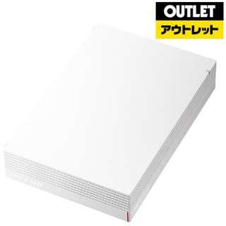 【アウトレット品】 外付けHDD [据え置き型 /3TB] HD-LDU3-Aシリーズ HD-LD3.0U3-WHA ホワイト 【生産完了品】