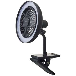 DSLC-30-BK クリップ式扇風機 黒