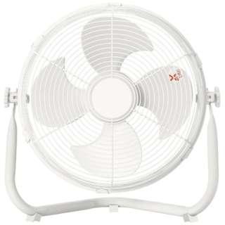 YMY-D30(W) 30cm 床置き扇風機 ホワイト [DCモーター搭載]