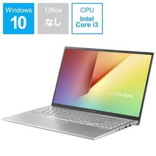 VivoBook 15 ノートパソコン トランスペアレントシルバー X512FA-8145 [15.6型 /intel Core i3 /SSD:128GB /メモリ:4GB /2019年4月モデル]