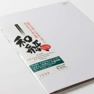 阿波紙 びざん (中厚口) パノラマM(5枚) A.I.J.P.(アワガミインクジェットペーパー) 生成 42982100