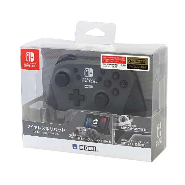 ワイヤレスホリパッド for Nintendo Switch グレー NSW-175 【Switch】