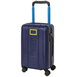 スーツケース ワイドハンドルジッパーキャリー 37L ADVENTURE SERIES ネイビー NAG-0800-49 [TSAロック搭載]