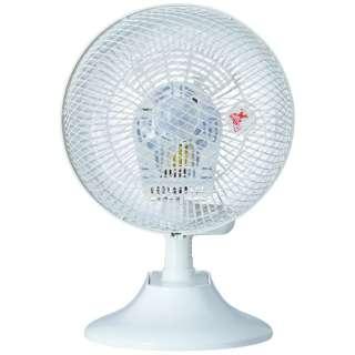 CCT102 クリップ式扇風機 ホワイト