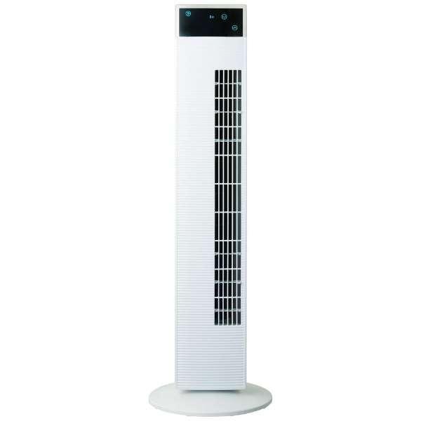 CTA101-WH タワーファン(扇風機) ホワイト [リモコン付き]