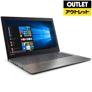 【アウトレット品】 15.6型ノートPC [Win10 Home・Celeron・HDD 500GB・メモリ 4GB] Ideapad (アイデアパッド )320  80XR009QJP オニキスブラック 【生産完了品】