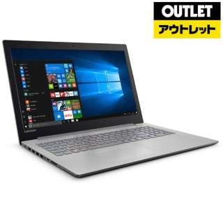 【アウトレット品】 15.6型ノートPC [Win10 Home・Celeron・HDD 500GB・メモリ 4GB] ideapad 320 80XR009RJP プラチナシルバー 【生産完了品】