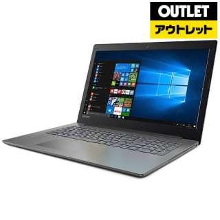 【アウトレット品】 80XR0012JP ノートパソコン Ideapad (アイデアパッド )320 オニキスブラック [15.6型 /intel Celeron /HDD:500GB /メモリ:4GB /2017年7月モデル] 【外装不良品】