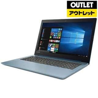 【アウトレット品】 15.6型ノートPC [Win10 Home・Core i3・HDD 1TB・メモリ 4GB・Office] Ideapad (アイデアパッド )320  80XH00BDJP デニムブルー 【生産完了品】
