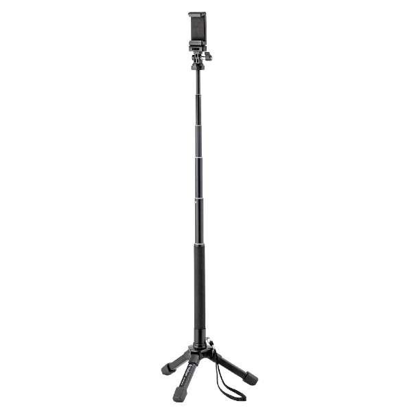 スマホ・アクションカメラ用自立式一脚 BK-POLE S