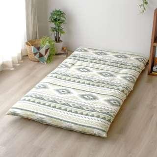 【敷ふとんカバー】変り織り ブール シングルロングサイズ(ポリエステル65%、綿35%/105×215cm)