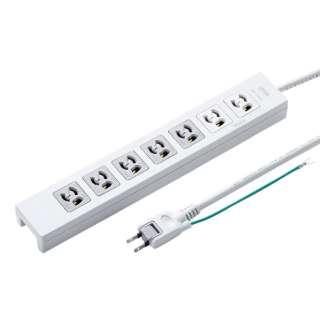 電源タップ(抜け止めタイプ) TAP-F37-2KSRP [2.0m /7個口 /スイッチ ...