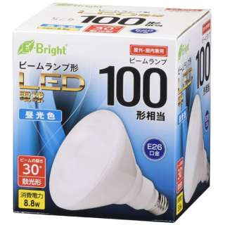 LED電球 ビームランプ形 散光形 E26 100形相当 昼光色 LDR9D-W20/100W