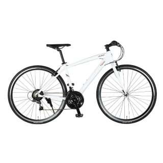 700×28C クロスバイク MASERATI AL-CRB7021 urban(マセラティ ホワイト/21段変速) 68107-12 【組立商品につき返品不可】