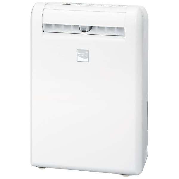 MJ-M100PX-W 衣類乾燥除湿機 サラリ ホワイト [木造13畳まで /鉄筋25畳まで /コンプレッサー方式]