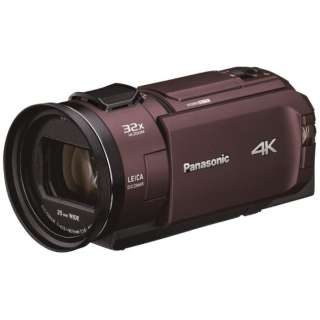 HC-WX2M-T ビデオカメラ カカオブラウン [4K対応]